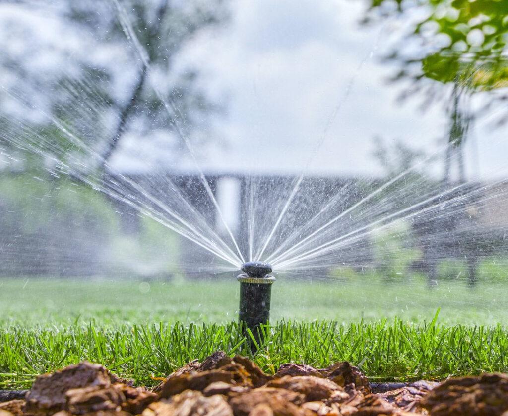 lawn sprinklers service